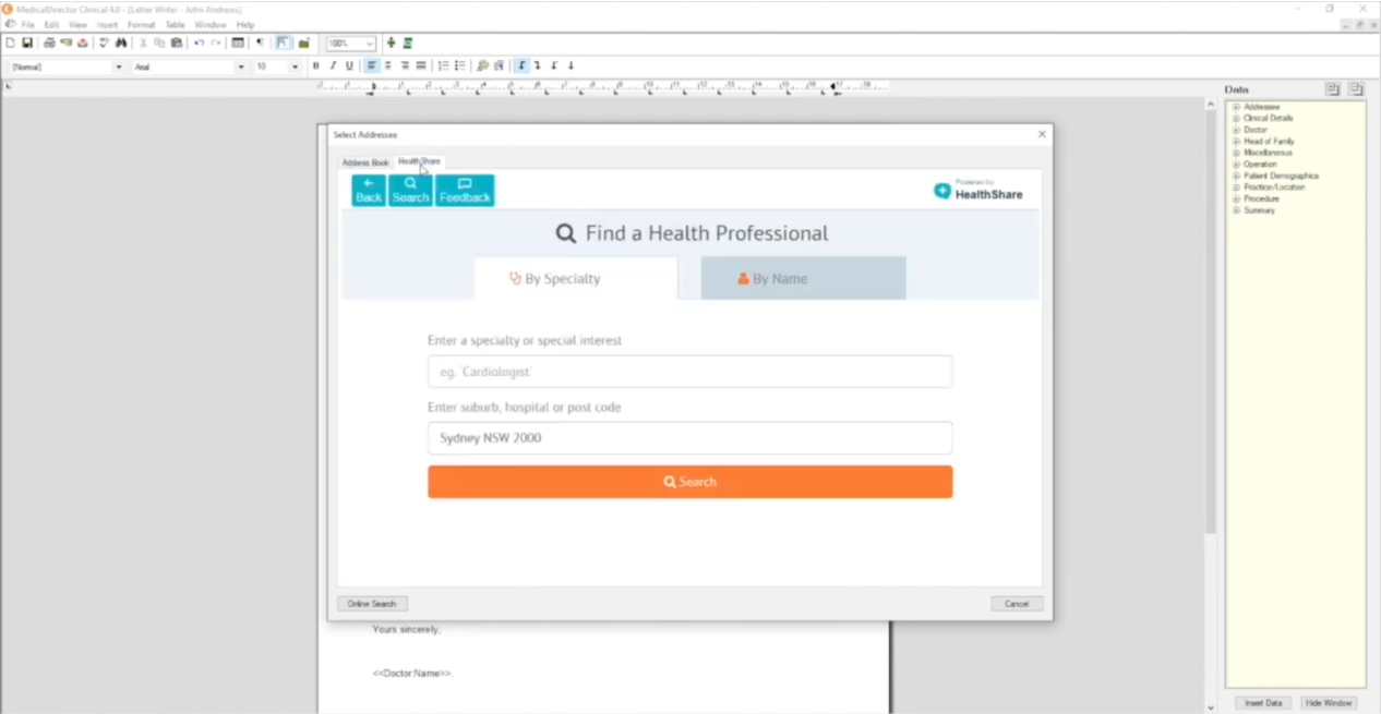 MedicalDirector releases version 4.0 with deeper integration of HealthShare Practitioner Referrals Directory
